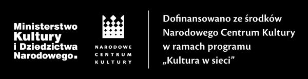 footer logo Ministerstwa Kultury i Dziedzictwa Narodowego