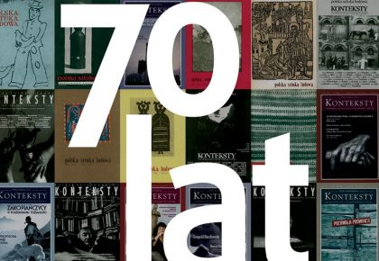 Konteksty – 70 lat istnienia