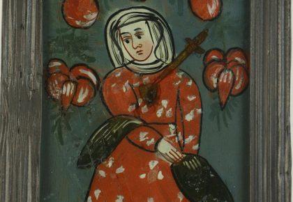 Unikatowa kolekcja dawnego malarstwa ludowego na szkle ze zbiorów Muzeum Tatrzańskiego odzyskała swoją świetność dzięki konserwacji zrealizowanej ze środków Ministra Kultury i Dziedzictwa Narodowego oraz województwa małopolskiego