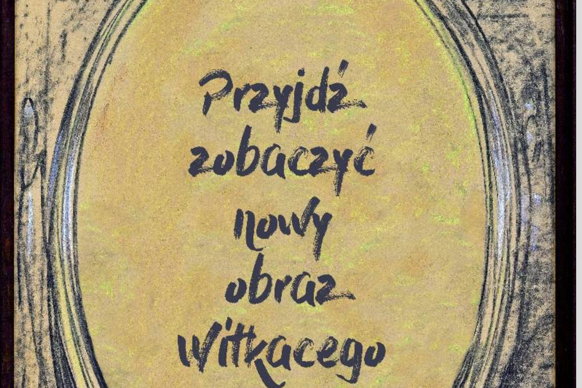Portret Olimpii Ślizowskiej autorstwa Witkacego