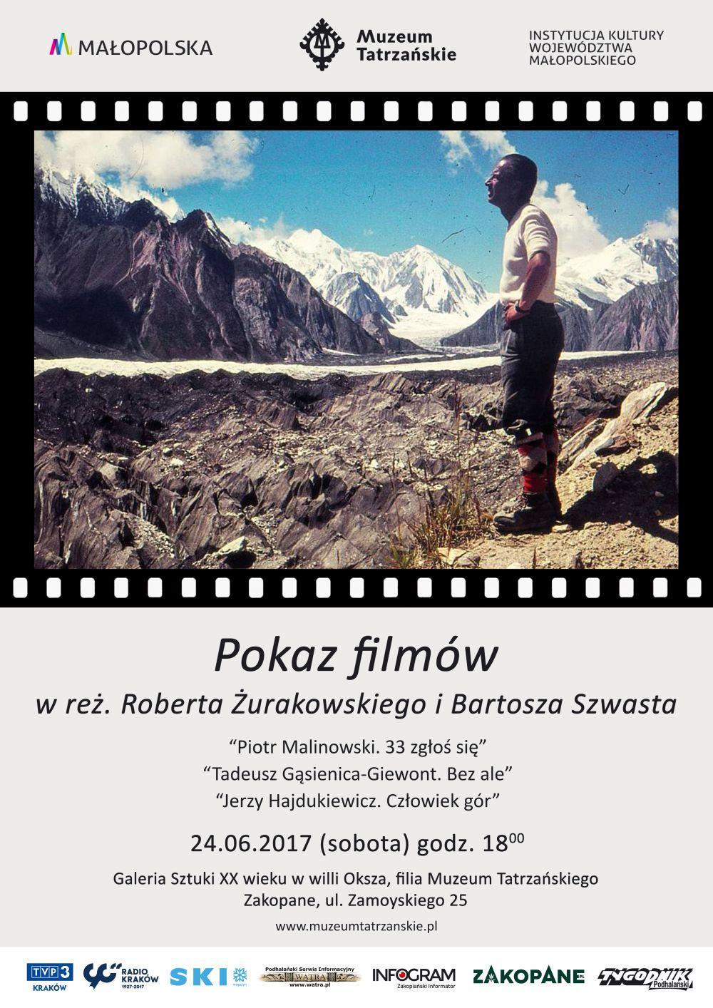 POKAZ FILMÓW W REŻYSERII ROBERTA ŻURAKOWSKIEGO I BARTOSZA SZWASTA