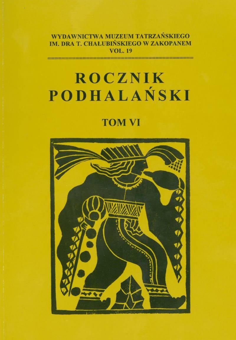 Rocznik Podhalański – tom VI