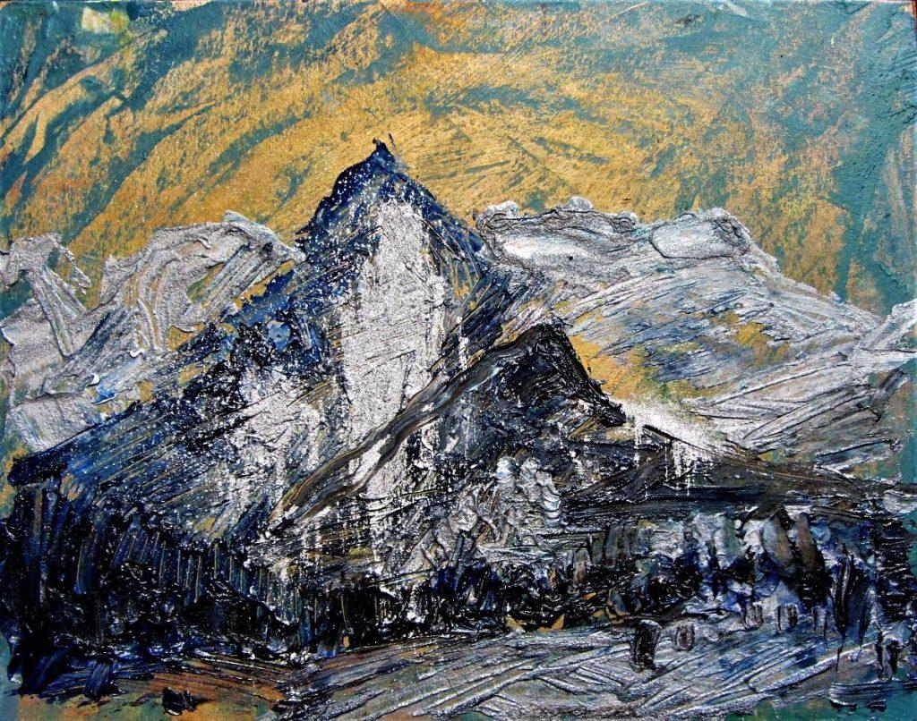 Malarstwo Wolności - Kościelec - Ewa Maria Romaniak