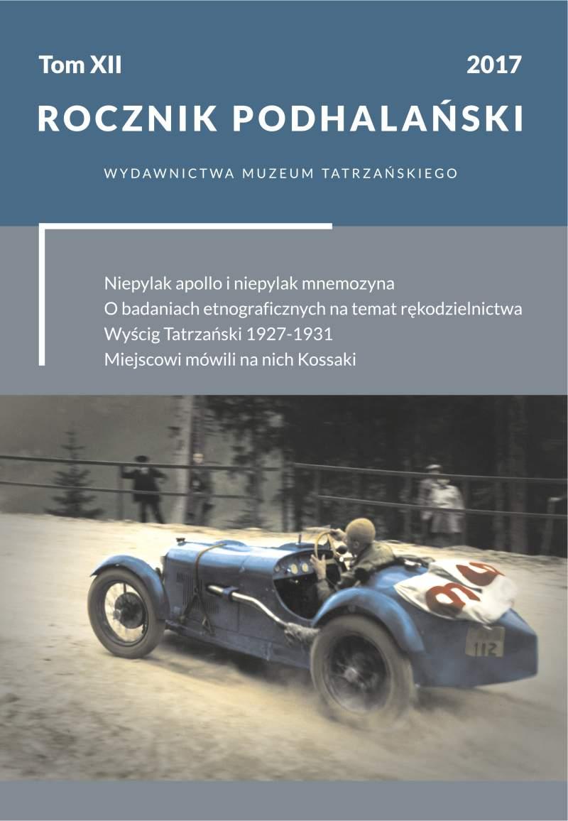 Rocznik Podhalański – tom XII