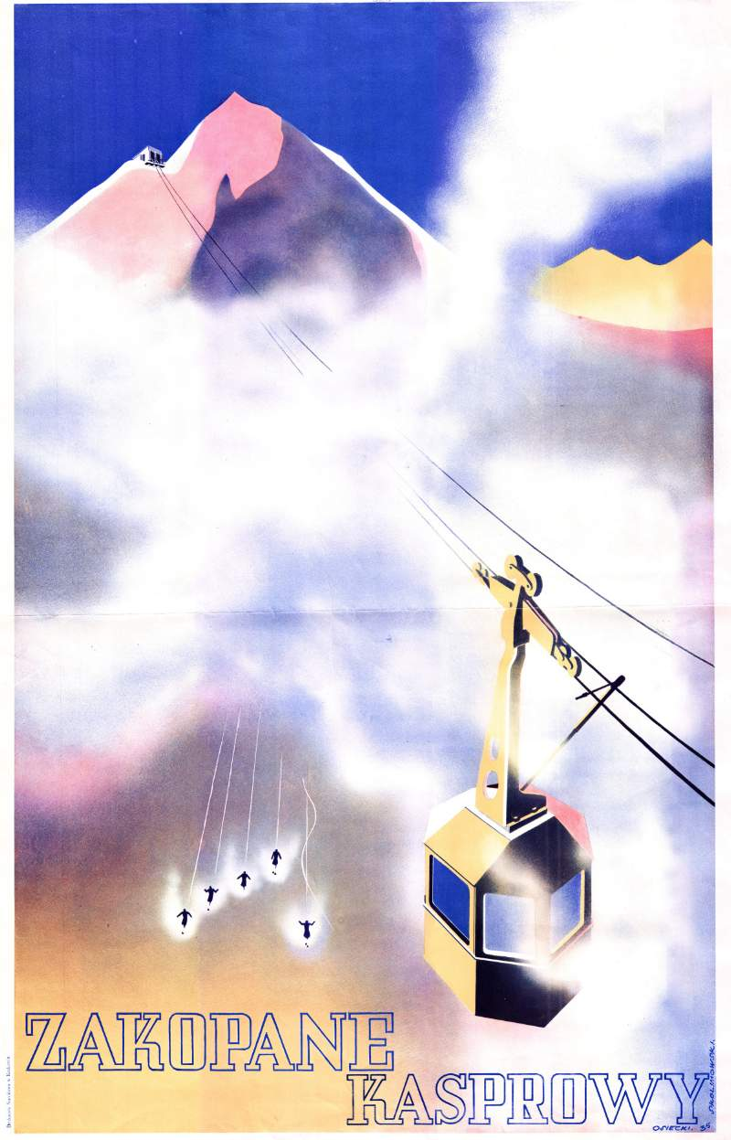 Wystawa Czasowa Zakopane Zaprasza Plakaty 1906 1948