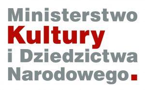 logo Ministerstwa Kultury i Dziedzictwa Narodowego.