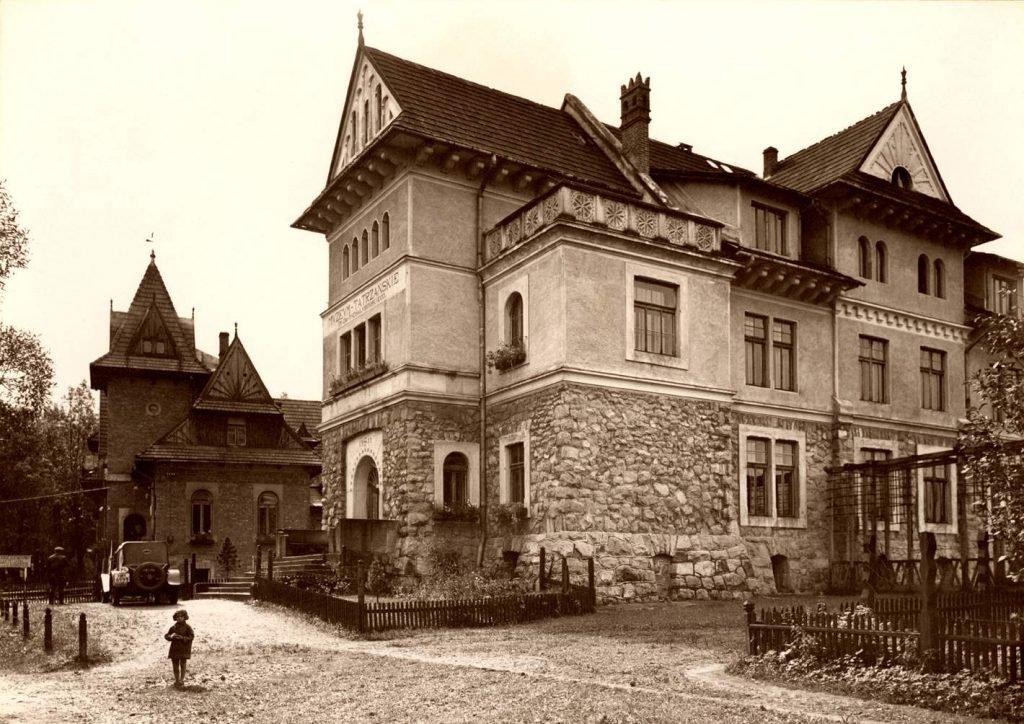 Gmach główny Muzeum Tatrzańskiego
