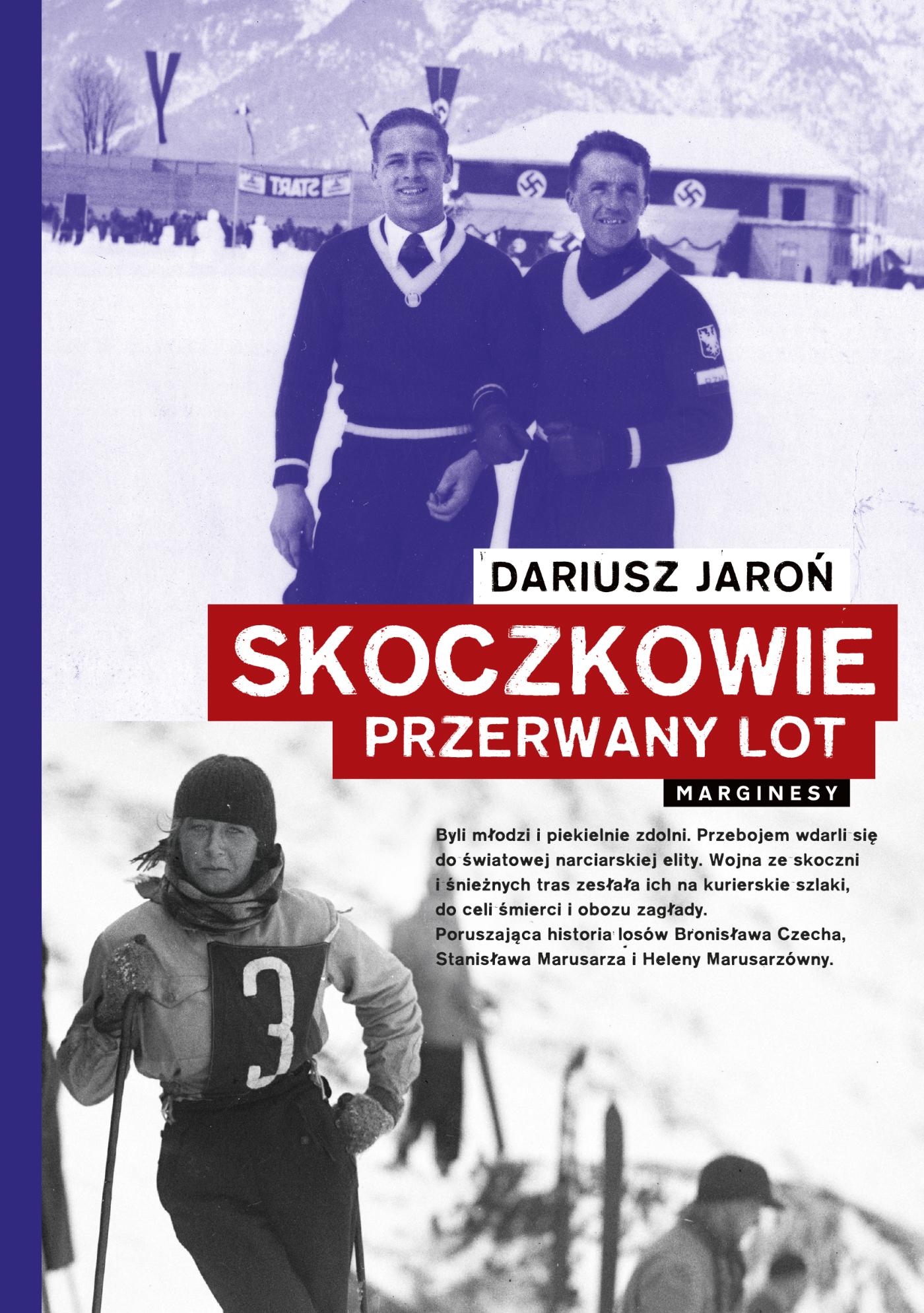 """Książka """"Skoczkowie"""" spotkanie z Dariuszem Jaroniem – ODWOŁANE"""