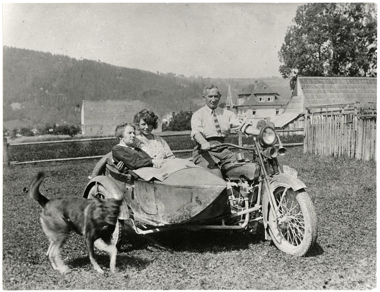 """#zostańwdomu """"Gudłaj"""" – Harley-Davidson Józefa Oppenheima"""