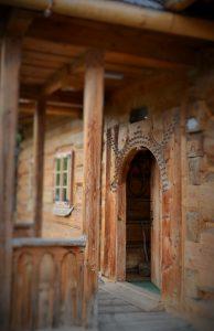 Zdjęcie ganku Muzeum na Rojach