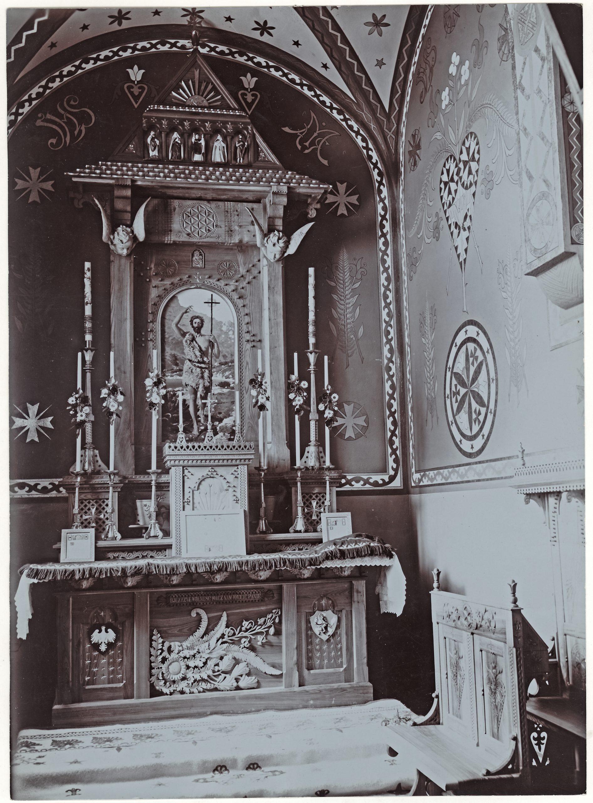 #zostańwdomu Kaplica św. Jana Chrzciciela w kościele pw. Najświętszej Rodziny w Zakopanem