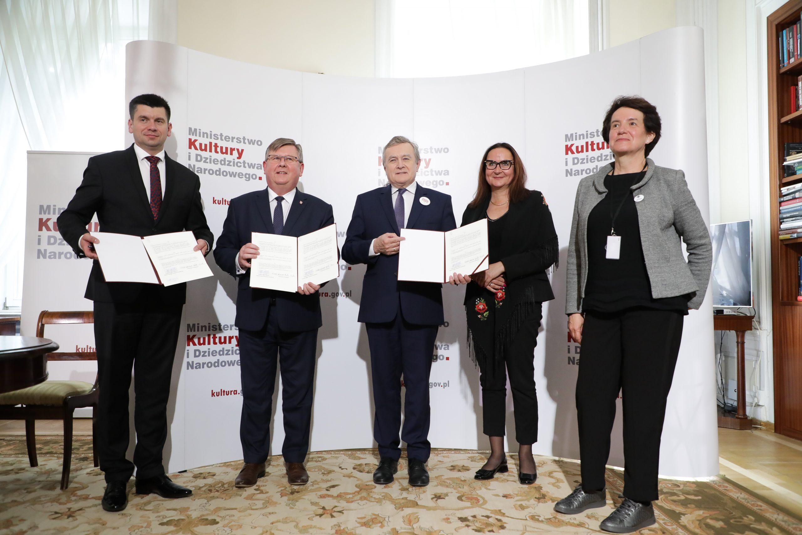 Muzeum Tatrzańskie w Zakopanem instytucją współprowadzoną przez MKIDN – za nami podpisanie listu intencyjnego w tej sprawie