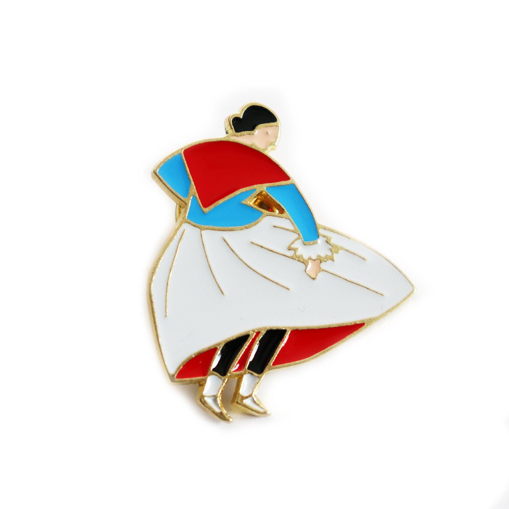 mAGNESY - Zakopiny - góralka z czerwoną chustą, KOLOR