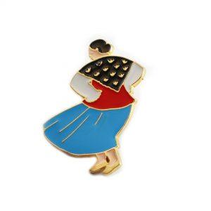 Magnesy - Góralka w niebieskiej spódnicy, kolor