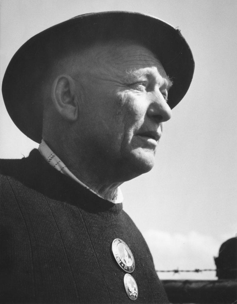 Józef Krzeptowski zdjęcie portretowe w kapeluszu góralskim