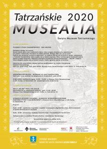 Plakat Tatrzańskie Musealia Święto Muzeum Tatrzańskiego