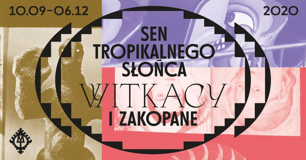 graficzny plakat ilustrujący do wernisażu i wystawy