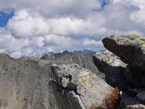 panorama z tatrzańskimi szczytami