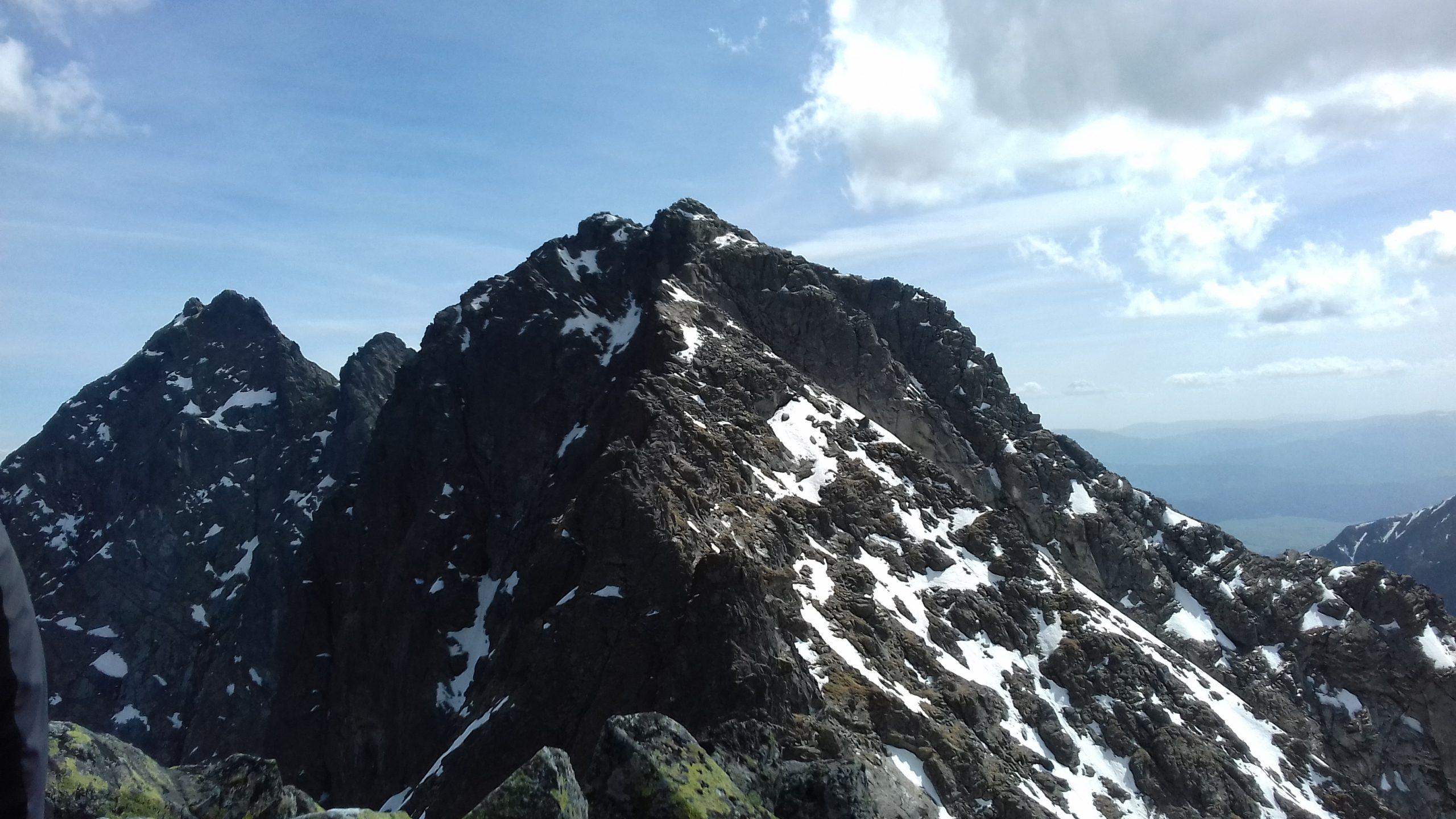 Tajemnicze Tatry, cz. 11 Niżnie Rysy Piękna góra wspinaczy i narciarzy, w cieniu Rysów…
