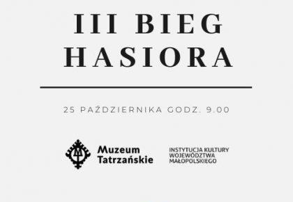 III BIEG HASIORA – ZAPISY