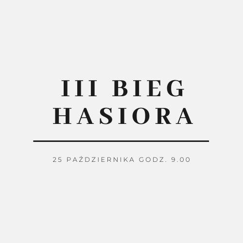 logo graficzne Biegu Hasiora