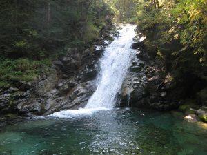 wodospad jeden z tatrzańskich