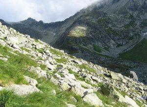 widok na szlak na Gerlach