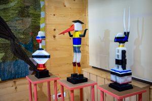 nowoczesna seria rzeźb jednego z autorów