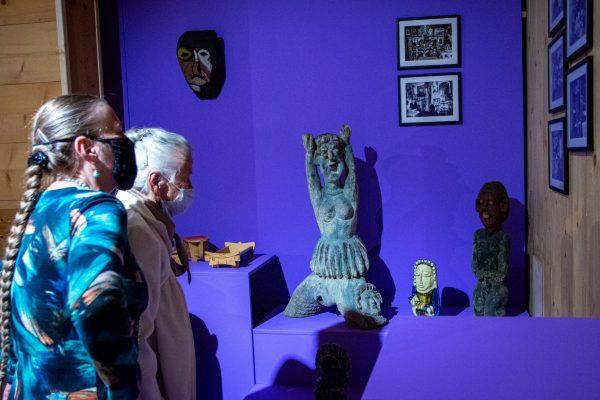 prezentacja ekspozycji wystawy