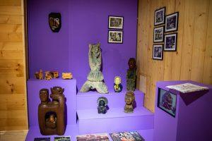 część eksponatów z wystawy