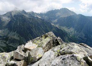 widok na tatrzańskie szczyty