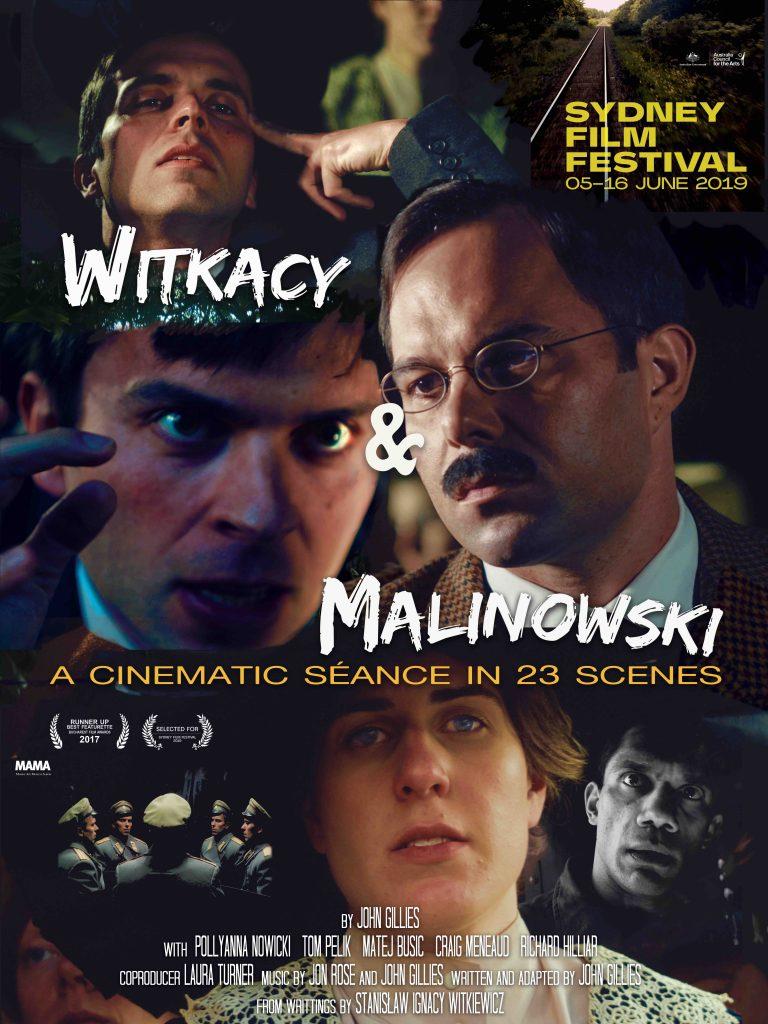 Witkacy i Malinowski plakat filmu