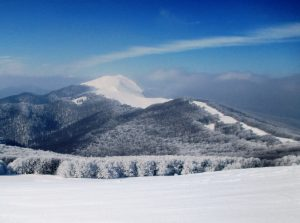 panorama na tatrzańskie szczyty