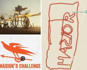 grafiki wydarzenia wirtualny Bieg Hasiora
