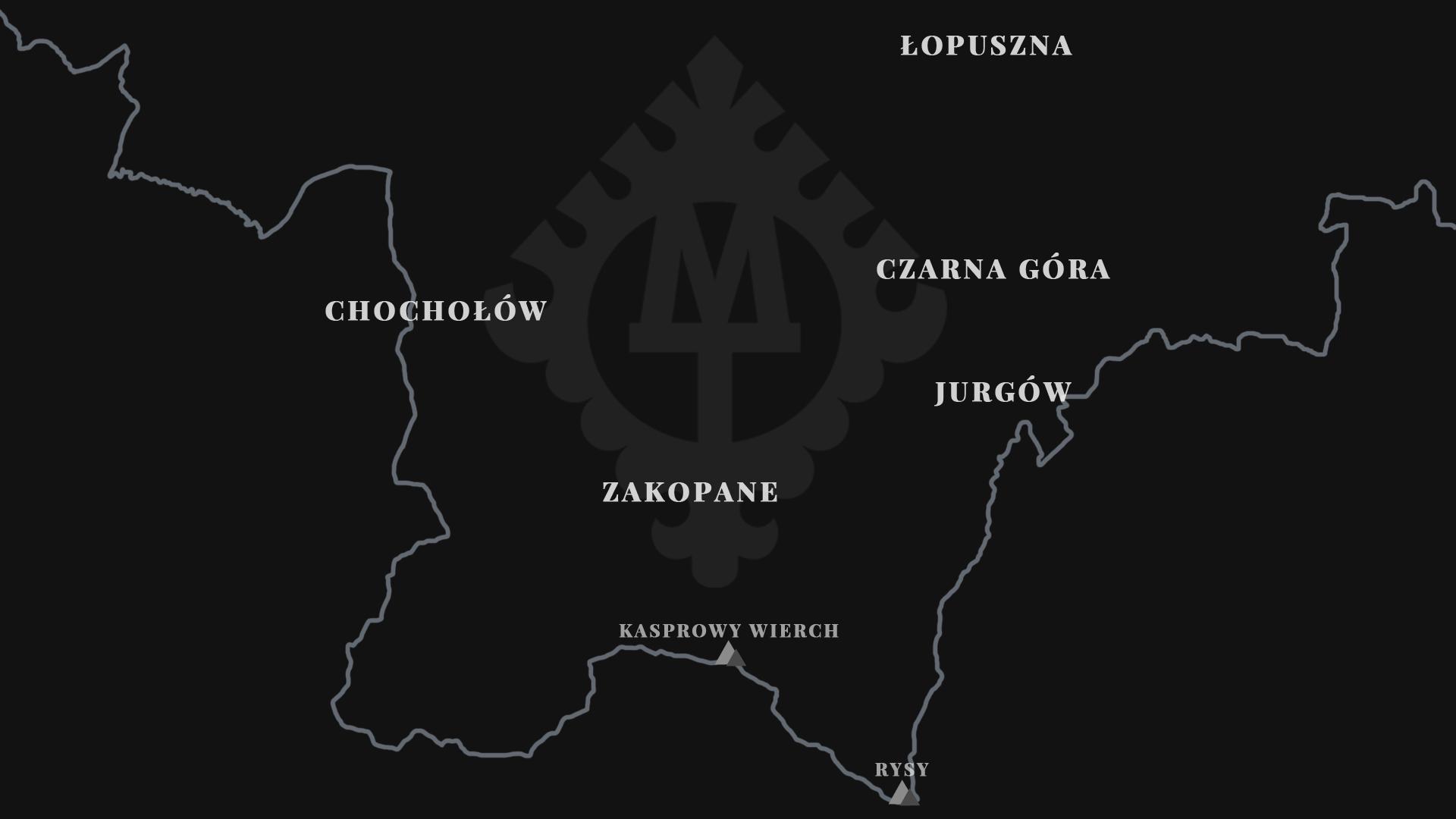 mapa filii