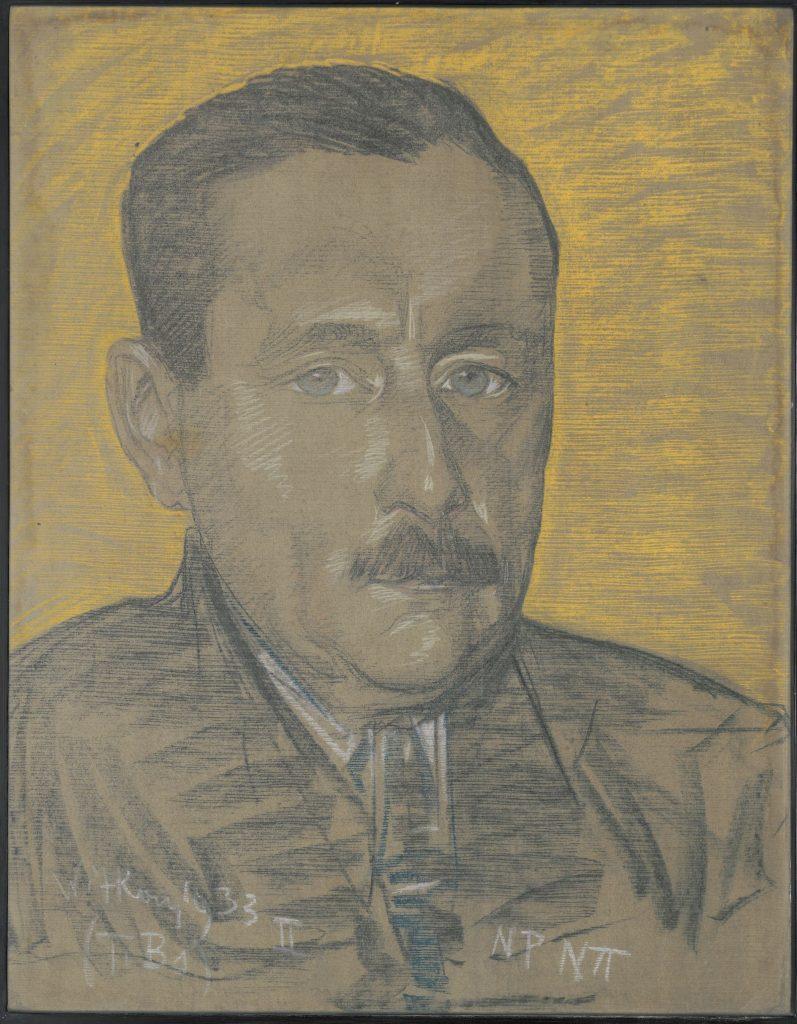 portret Gustawa Nowotnego