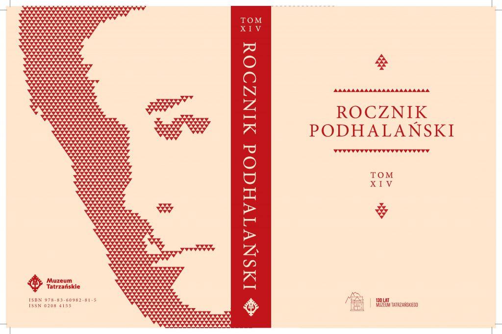 okładka tytułowa Rocznika Podhalańskiego