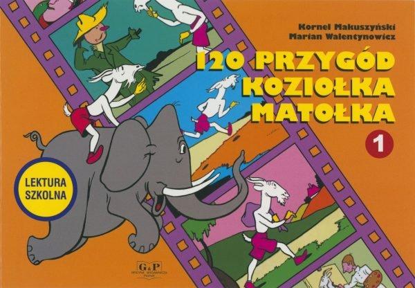 Okładka 120 Przygód Koziołka Matołka
