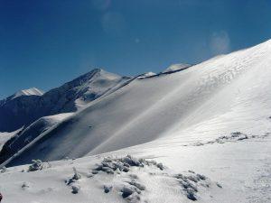 zimowa panorama na Tatry