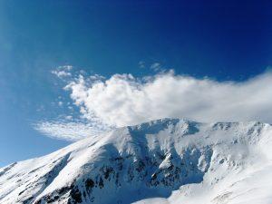 zimowa panorama Tatr