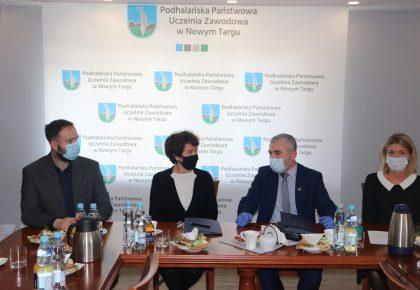 Muzeum Tatrzańskie zacieśnia współpracę z nowotarską uczelnią PPUZ