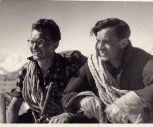 na zdjęciu dwóch taterników jeden z nich to Jan Długosz