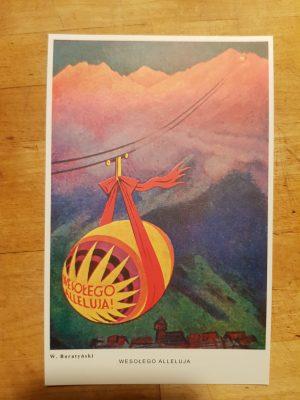 Pocztówka Wielkanocna - Wesołego Alleluja , kolor