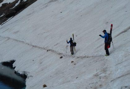 Tajemnicze Tatry, Część 32  Niżnie Rysy  – wielka skalna i śnieżna cisza…