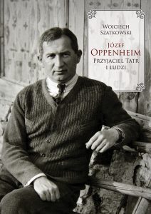 okładka nowej książki ze zdjeciem Józefa Oppenheima