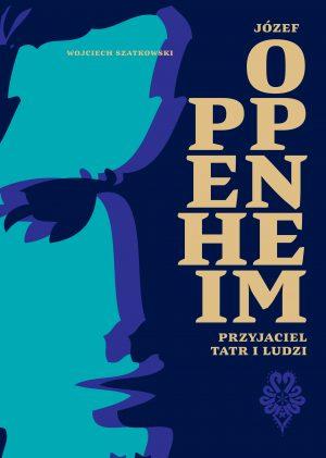 okładka miekka - kolor, grafika postaci Oppenheim'a