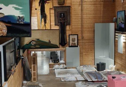 Galeria Władysława Hasiora – trwają prace przy odtworzeniu ekspozycji po remoncie obiektu