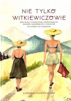 Okładka kolor, dwie kobiety na tle gór stojące tyłem