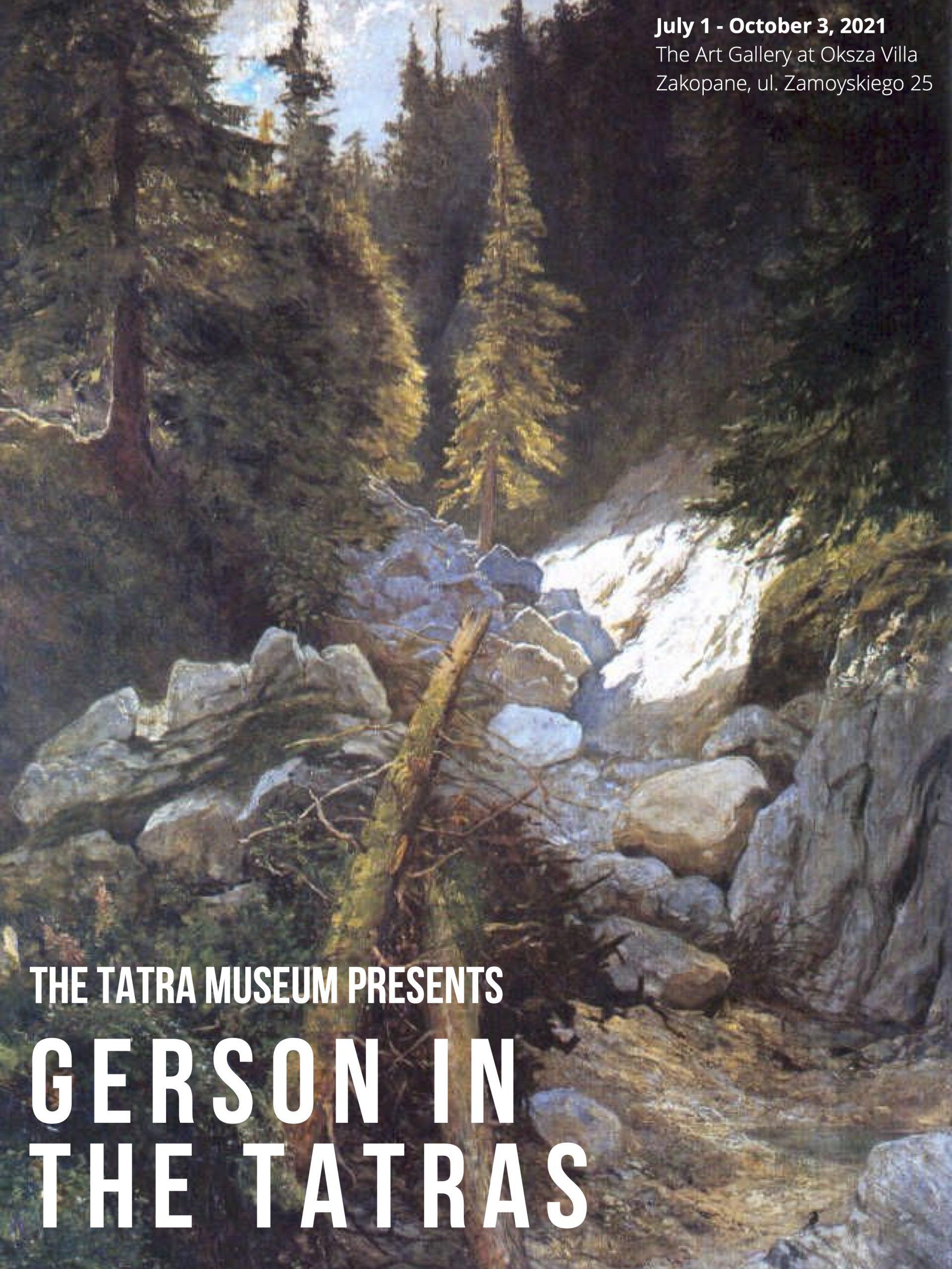 The Tatra Museum Presents Gerson in the Tatras