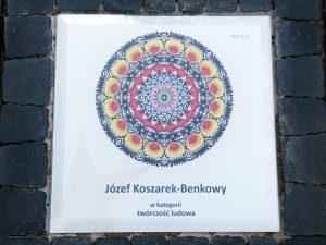 """""""Gwiozda Łowicko"""" 2021, Józef Koszarek-Benkowy w kategorii twórczość ludowa"""